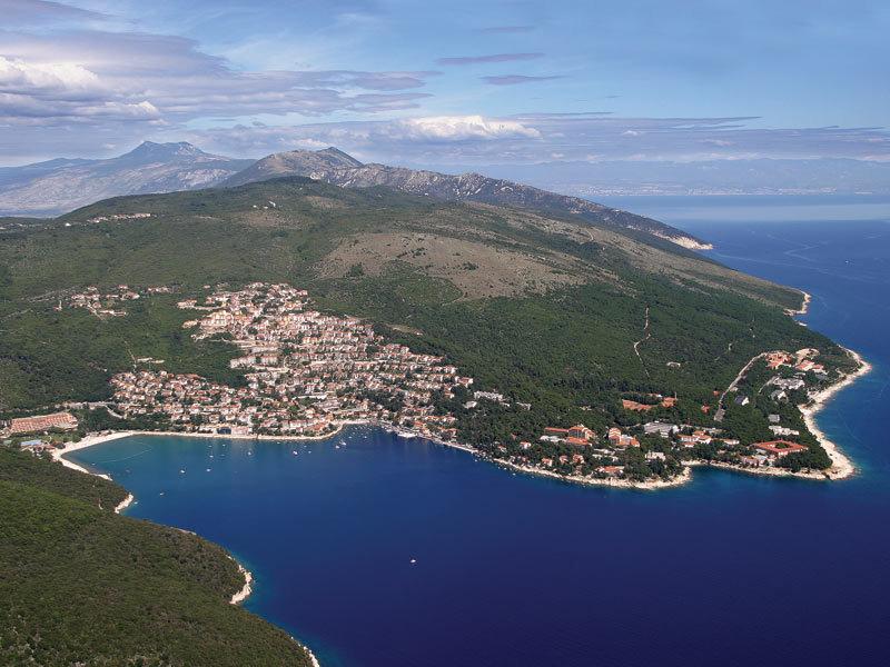 Istrien Karte Rabac.Rabac Biser Kvarnera Istra Hrvatska