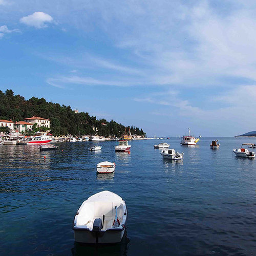 July in Labin and Rabac