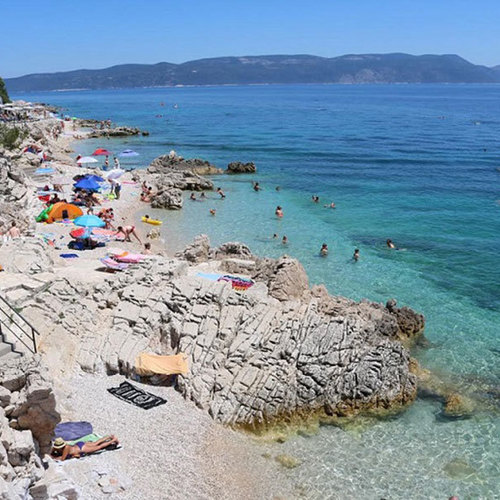 August in Labin und Rabac