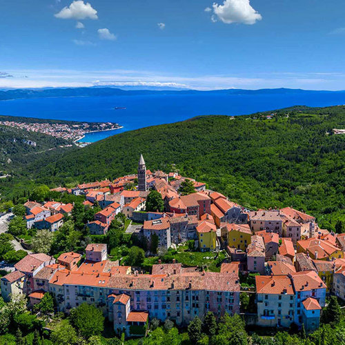 September in Labin and Rabac