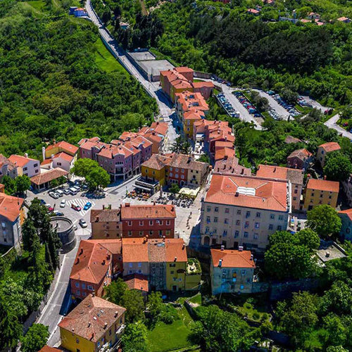 April in Labin and Rabac